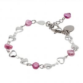 Riya Bracelet in Pink