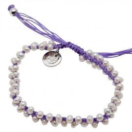 Sam Bracelet in Purple