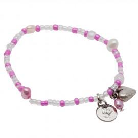 Line Bracelet in Pink