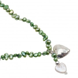 Noelle Necklace in Green