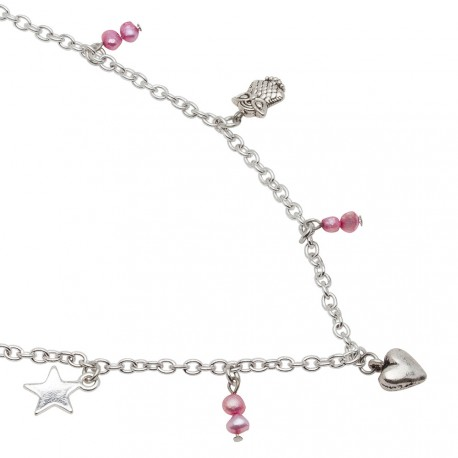 Emily Necklace in Pink