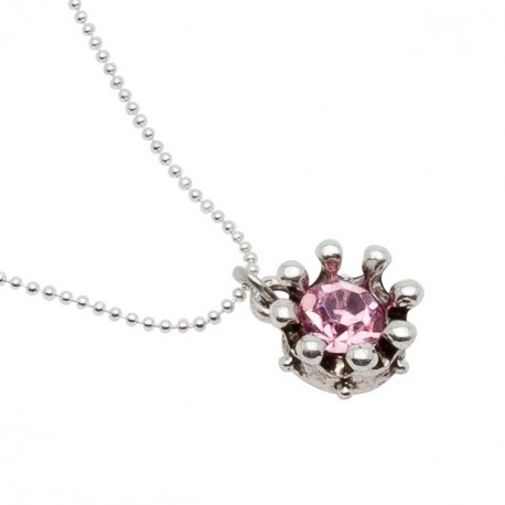 Belle Necklace in Pink