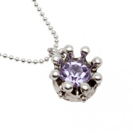 Belle Necklace in Purple