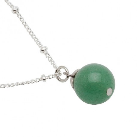 Filomena Necklace in Green