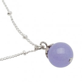 Filomena Necklace in Purple