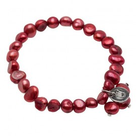 Lilian Bracelet in Red
