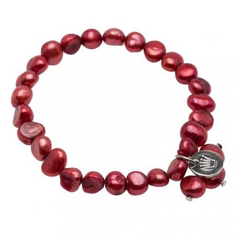 Lilian Bracelet in Red