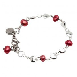 Riya Bracelet in Red