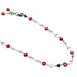 Riya Necklace in Red
