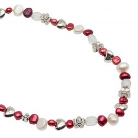 Sienna Necklace in Red