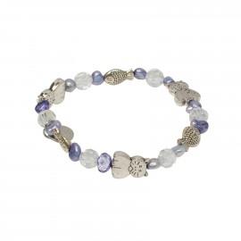 Kaia Bracelet in Purple