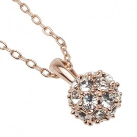 Cassi Necklace in Rose-Gold