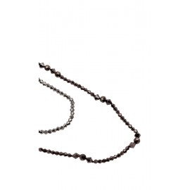 Sarah Necklace in Brown