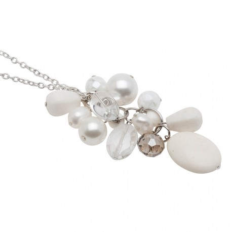 Kenna Necklace in White