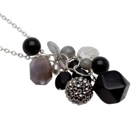 Kenna Necklace in Black