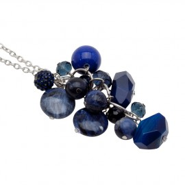 Kenna Necklace in Blue