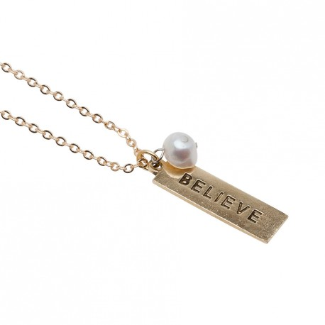 Mia Necklace in Gold