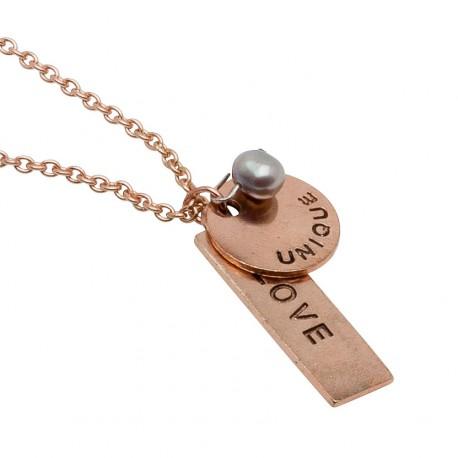 Carita Necklace in Rose-Gold