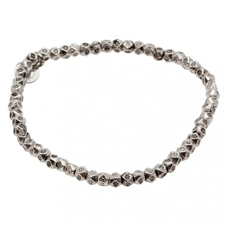 Daisy Bracelet in Silver