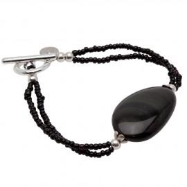 Cassidy Bracelet in Black