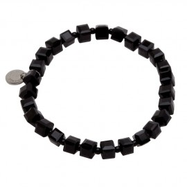 Duff Bracelet in Black Agate