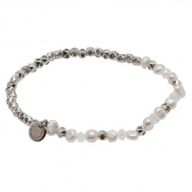 Sara E. Bracelet in White