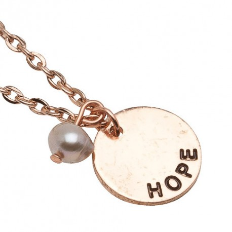 Hope Necklace in Rose-Gold