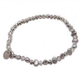 Sara E. Bracelet in Grey